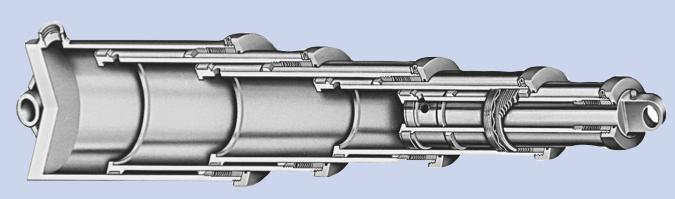 Teleskopik Hidrolik Silindir